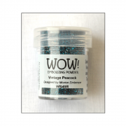 Must Haves - 'WOW Vintage Peacock Embossing Glitter'