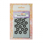 Must Haves - 'Dinky Stencil, Flowers', 75mm x 120mm