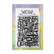 Must Haves - 'WOW Go Figure Clear Stamp' 100mm x 140mm