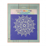 Must Haves - 'Mask, Mandala 2', 6in x 6in