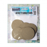 "Must Haves - 'Artist Trading Coins x 6, by Tando Creative', 2.5"" dia"
