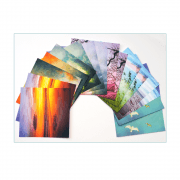 Sixteen Square Photo Background Paper Sheets - 'Photo Pack' 145mm sq
