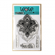 Must Haves - 'WOW Mandala Clear Stamp Set' 100mm x 140mm